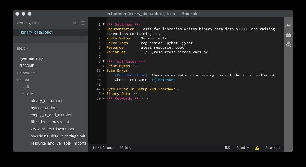 Writing code to test code